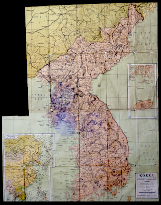 Korea Historic Map